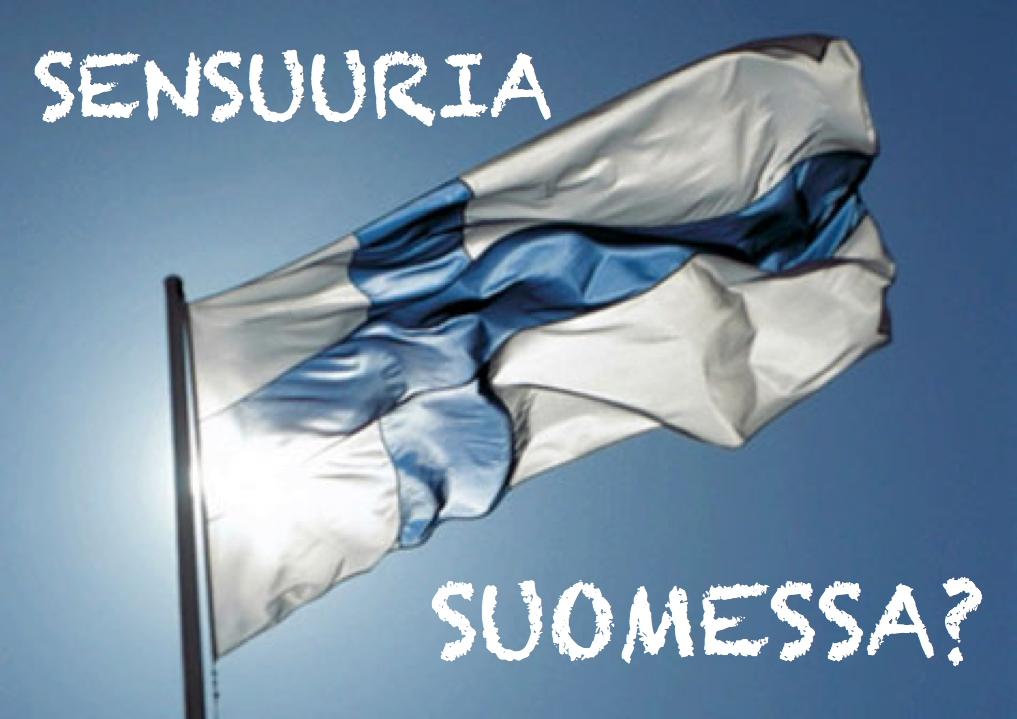 SENSUURIA SUOMESSA LIPPUKUVA
