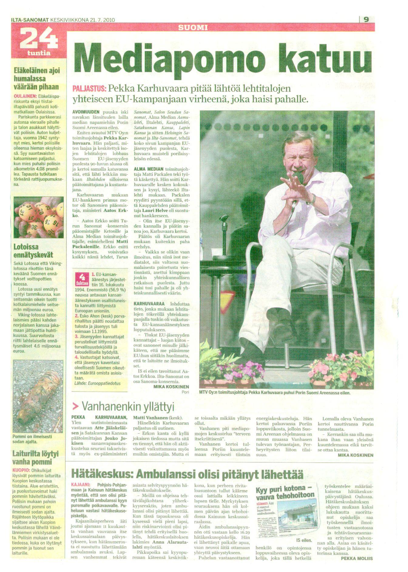 Sananvapaus Iltasanomat 21072010_Mediapomo katuu_3